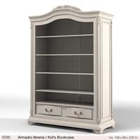 savio firmino classic kid`s bookcase  3086