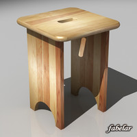 max wooden stool
