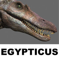 EGYPTICUS spinosaur dinosaur