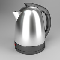 kettle tea-kettle teapot 3d 3ds