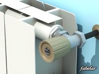 aluminium radiator 3d max