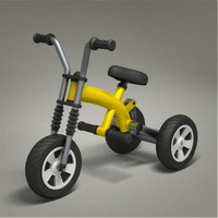 tricycle 3d 3ds