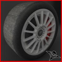 3d model oz racing