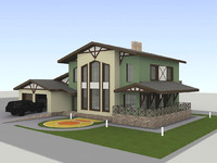 building garage 3d model