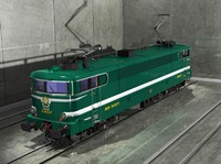 3ds max sncf oullins locomotive