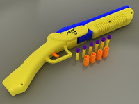 Nerf Double Barrel Shotgun Mod