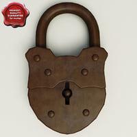 maya old lock