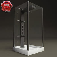 Shower hydromassage cabin