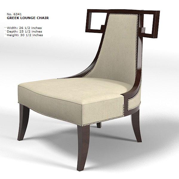 Baker thomas pheasant 3d model - Deco lounge eetkamer modern ...
