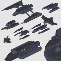 Coalition Spaceship Fleet