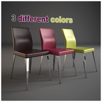 3d bar furnishing set chair model