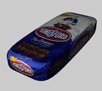 bag charcoal 3d model