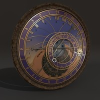 horologe prague c4d