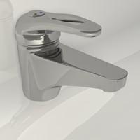 faucet yafaray 3d 3ds