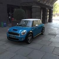 3d model mini cooper s car
