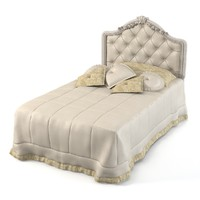 Savio Firmino Classic Single Bed Tufted