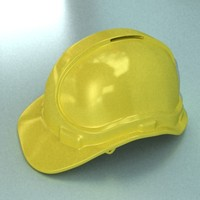 safety helmet 3d model