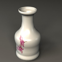 vase porcelain 3d model