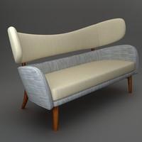 bench interior 3d model