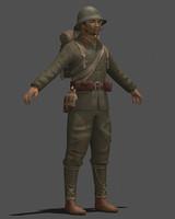 games war 3d model