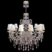 classical chandelier light interior 3ds