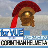 Greek Corinthian Helmet-A