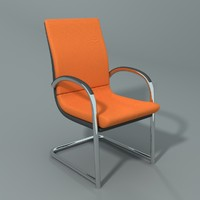 3d model ahrend office chair