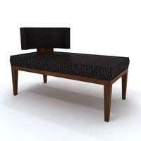 classical sofa banquette max