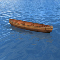 Canoe boat (indean)