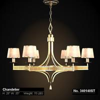 fine lamps classic 3d model
