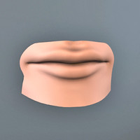 mouth head 3d model
