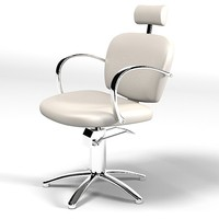 maletti tilting  styling  client chair armchair beauty salon modern contemporary