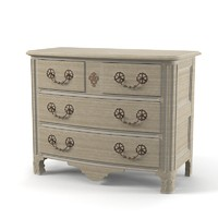 Collection Pierre Chest of Drawers classic tresor commode