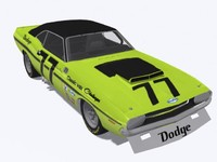 Dodge Challenger TA race car