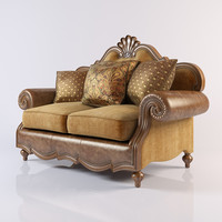zacharie sofa 2 3d max