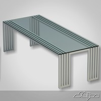 PP dining table azure