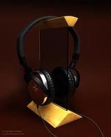 3dsmax technica ath-es7 headphones