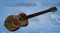 c4d acoustic guitar