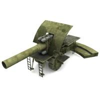 Bertha M-Gerat Dicke Morser M10