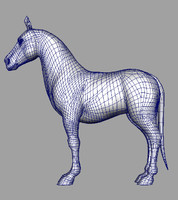maya horse animation