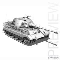 SD.KFZ 182 Tiger 2 - King Tiger