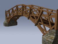 3d model mathematical bridge