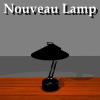 Nouveau Table Lamp