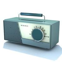 3dsmax retro radio 02