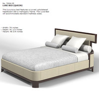 Baker Thomas Pheasant  Luxe Bed Queen  7826-05