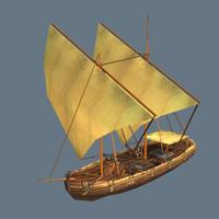 Sailing Ship Gajeta Class