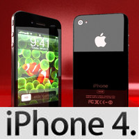 Apple Iphone 4 - High Detailed