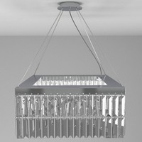 3ds max contemporary chandelier light