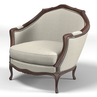 mossonnier classic chair armchair classical baroque french marquis gondole louis