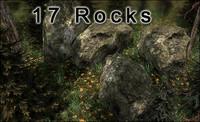 stone rocks 3d model